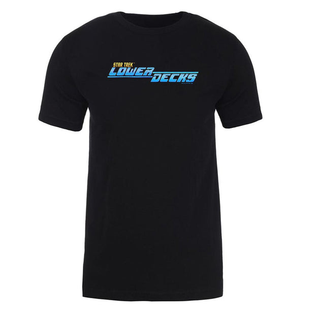 Star Trek: Lower Decks Logo Adult Short Sleeve T-Shirt