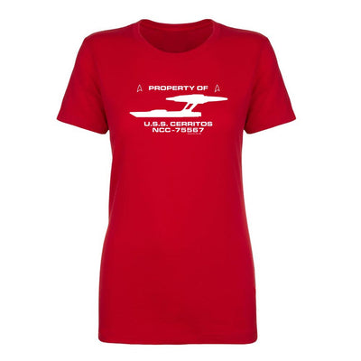 Star Trek: Lower Decks Property Of Women's Short Sleeve T-Shirt