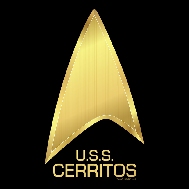 Star Trek: Lower Decks U.S.S Cerritos Adult Short Sleeve T-Shirt