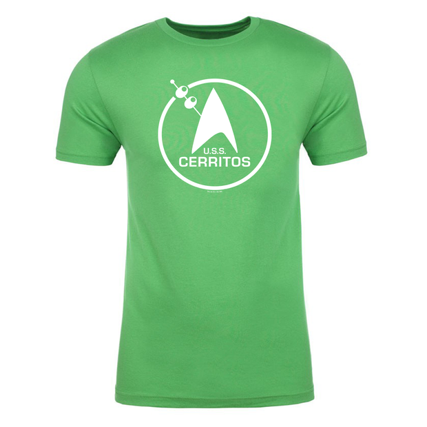 Star Trek: Lower Decks LD St Pat Cerritos Adult Short Sleeve T-Shirt