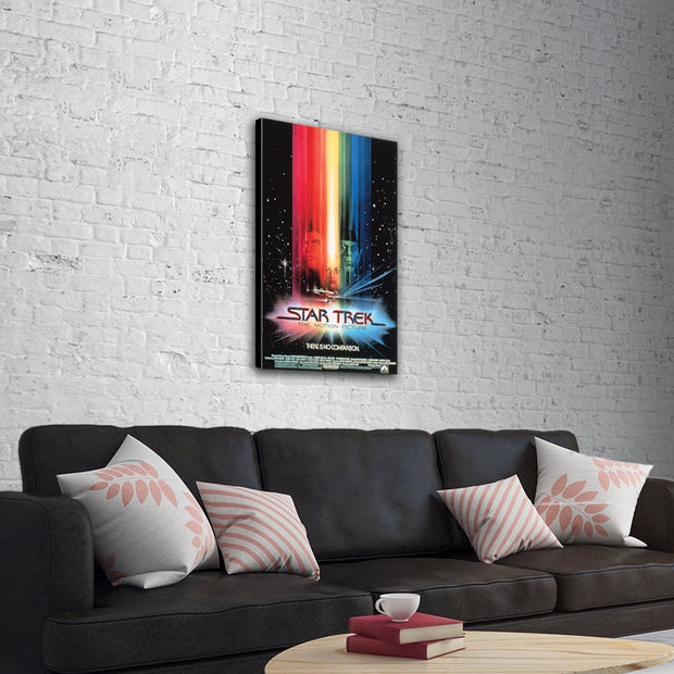 Star Trek: The Motion Picture Poster Traditional Canvas