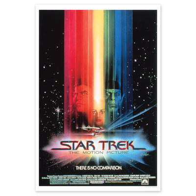 Star Trek: The Motion Picture Poster Premium Satin Poster