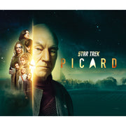 Star Trek: Picard Cast Vineyard Sherpa Blanket