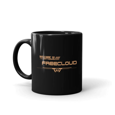 Star Trek: Picard Freecloud Black Mug