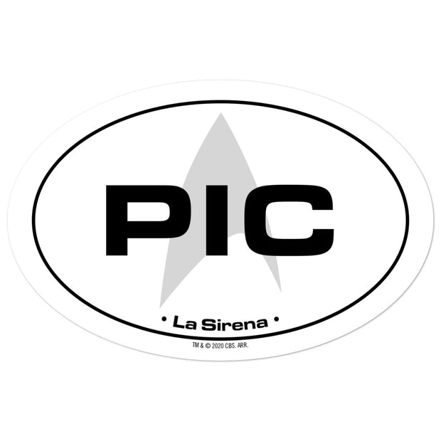 Star Trek: Picard Location Die Cut Sticker