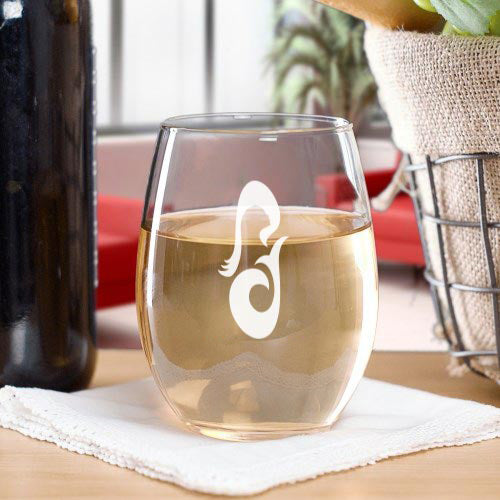 Star Trek: Picard La Sirena Laser Engraved Stemless Wine Glass