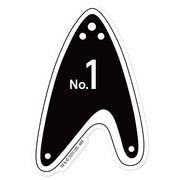 Star Trek: Picard No.1 Delta Die Cut Sticker