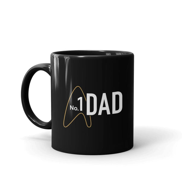 Star Trek: Picard No.1 Dad Black Mug