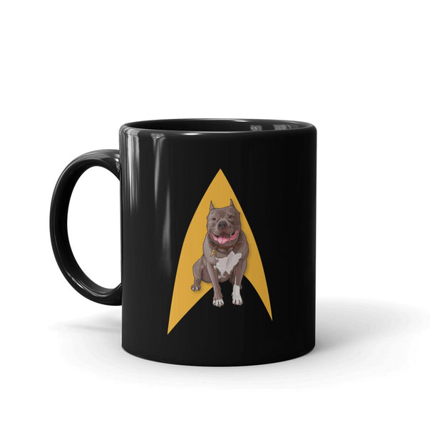 Star Trek: Picard No. 1 Delta Black Mug