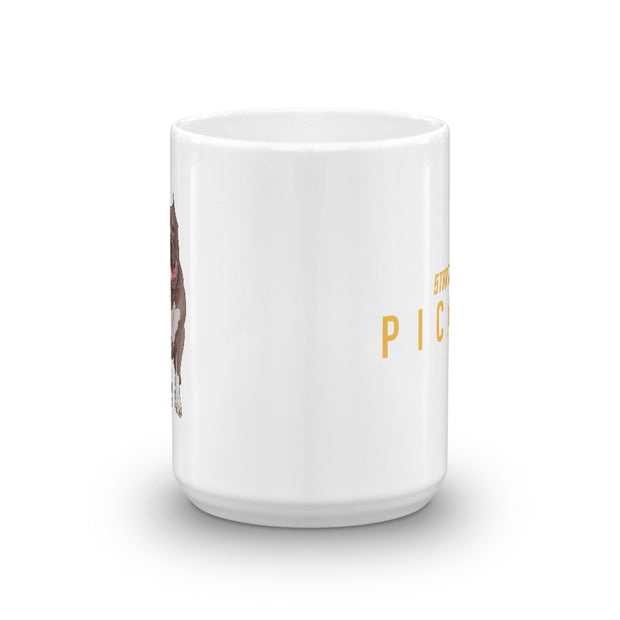 Star Trek: Picard No.1 Logo White Mug
