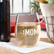 Star Trek: Picard No.1 Mom Laser Engraved Stemless Wine Glass