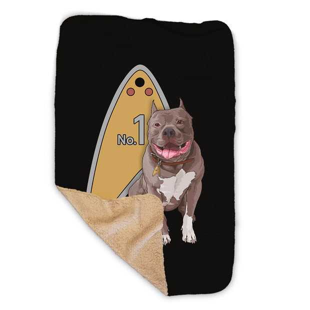 Star Trek: Picard No.1 Tag Sherpa Blanket