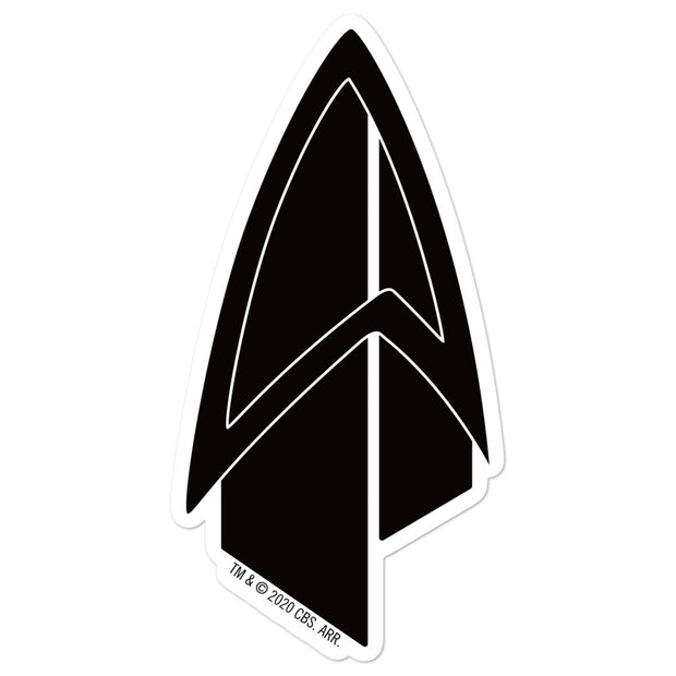 Star Trek: Picard Starfleet Badge Die Cut Sticker