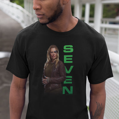 Star Trek: Picard Seven of Nine Adult Short Sleeve T-Shirt