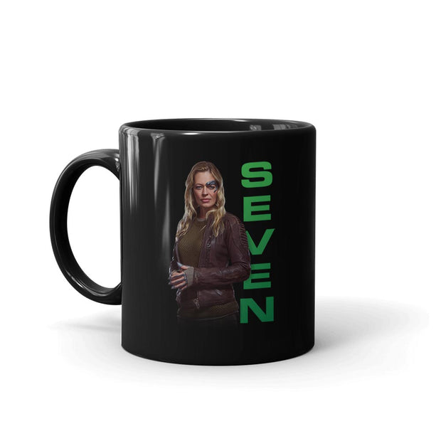 Star Trek: Picard Seven of Nine Black Mug