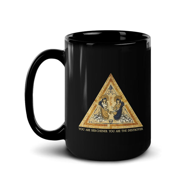 Star Trek: Picard Tarot Card Quote Black Mug