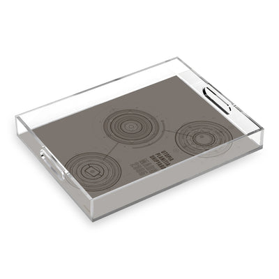 Star Trek: Picard Utopia Planitia Shipyards Acrylic Tray