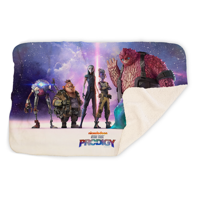 Star Trek: Prodigy Key Art Sherpa Blanket