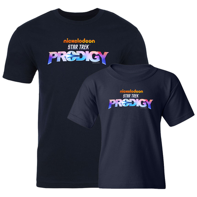 Star Trek: Prodigy Logo Adult and Kid's Bundle