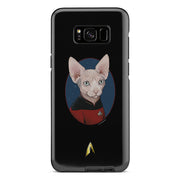 Star Trek: The Next Generation Picard Cat Portrait Tough Phone Case