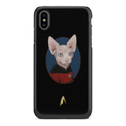 Star Trek: The Next Generation Picard Cat PortraitTough Phone Case