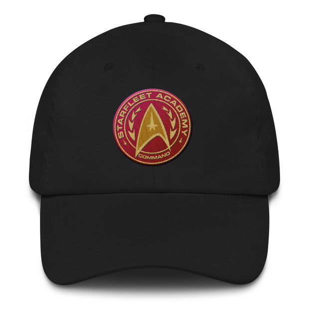 Star Trek Starfleet Command Badge Embroidered Hat