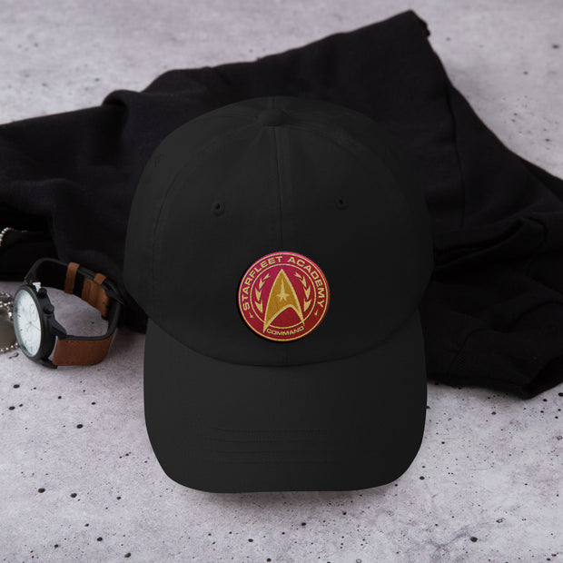 Star Trek: Starfleet Command Badge Embroidered Hat