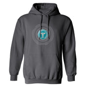 Star Trek: Starfleet Academy Medical Badge Fleece Hooded Sweatshirt