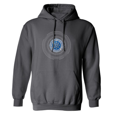 Star Trek: Starfleet Academy Science Badge Fleece Hooded Sweatshirt