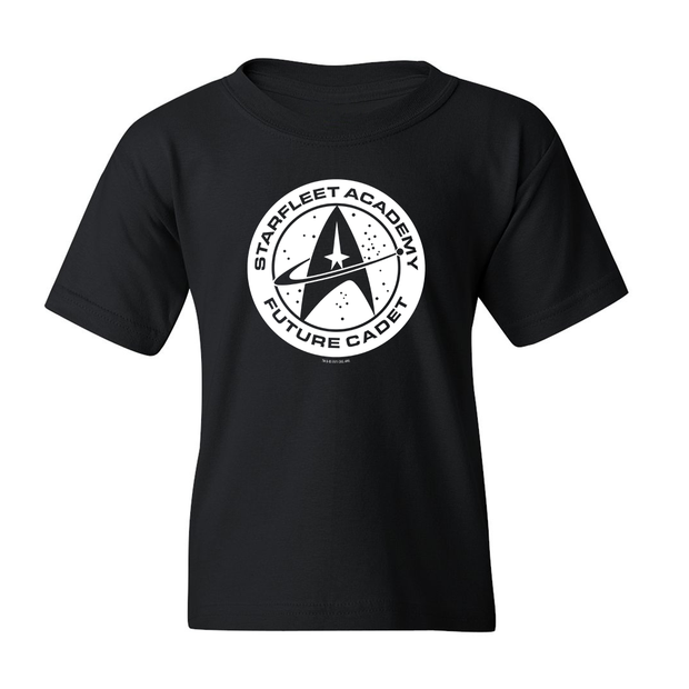 Star Trek: The Original Series Future Cadet Kids Short Sleeve T-Shirt