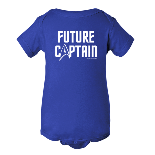 Star Trek: The Original Series Future Captain Baby Bodysuit