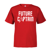 Star Trek: The Original Series Future Captain Toddler Short Sleeve T-Shirt