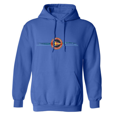 Star Trek: Starfleet Academy Red Squadron Fleece Hooded Sweatshirt