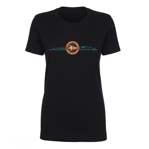 Star Trek Starfleet Academy Red Squadron Women's Short Sleeve T-Shirt