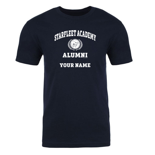 Star Trek: Starfleet Academy Alumni Personalized Adult Short Sleeve T-Shirt