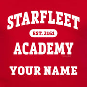 Star Trek: Starfleet Academy EST. 2161 Personalized Adult Short Sleeve T-Shirt
