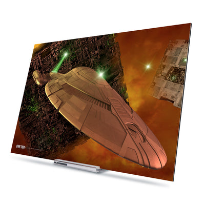 Star Trek: Voyager Ships of the Line Armored Voyager Acrylic