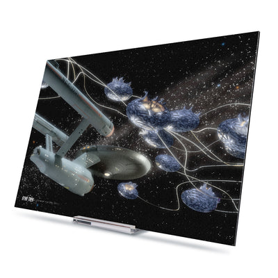 Star Trek: The Original Series Ships of the Line Beyond the Fathest Star Acrylic