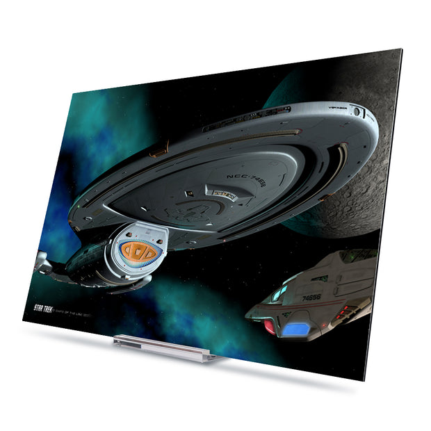 Star Trek: Voyager Ships of the Line Homeward Bound Acrylic