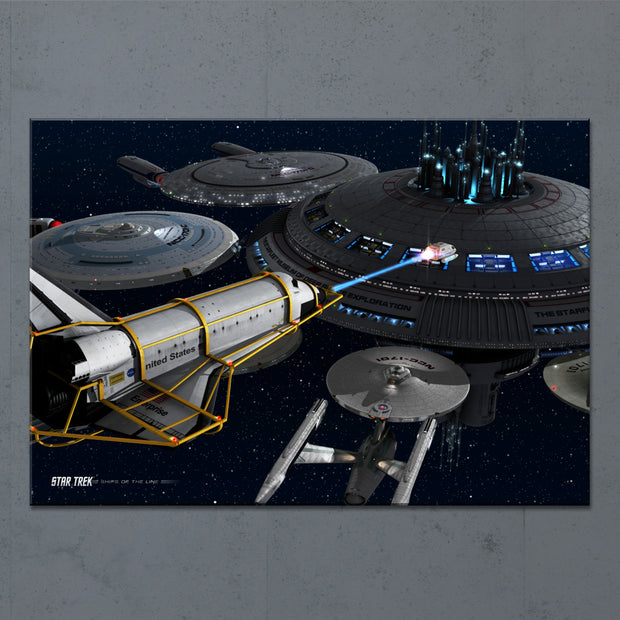 Star Trek Ships of the Line Acquisition Acrylic