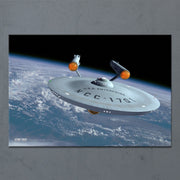 Star Trek: The Original Series Ships of the Line Assignment Earth Acrylic