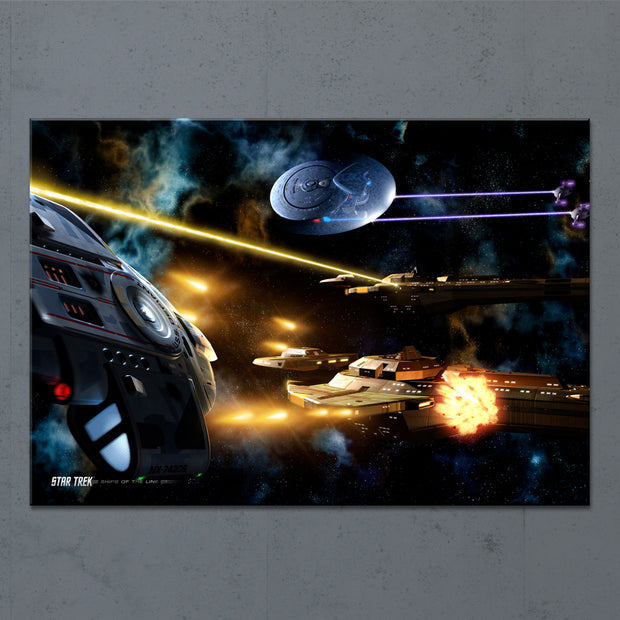 Star Trek: Deep Space Nine Ships of the Line Fortune Favors the Bold Acrylic