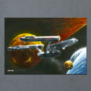Star Trek: The Original Series Ships of the Line Oceans of Blue and Seas of Fire Acrylic
