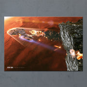 Star Trek: The Next Generation Ships of the Line Terminal Descent Acrylic