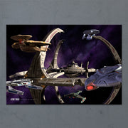Star Trek: Deep Space Nine Ships of the Line Wheel in the Sky Acrylic