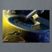 Star Trek: The Next Generation Ships of the Line Yesterday's Enterprise Acrylic