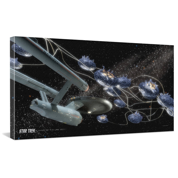 Star Trek: The Original Series Ships of the Line Beyond the Farthest Star Traditional Canvas