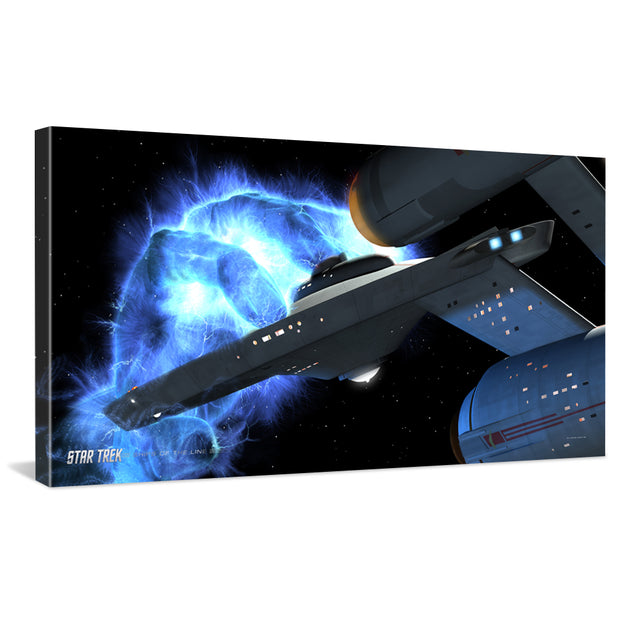 Star Trek: The Original Series Ships of the Line Righteous Wrath Traditional Canvas