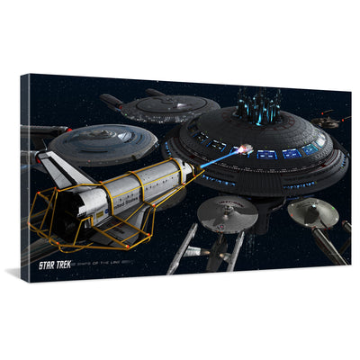 Star Trek Ships of the Line Acquisition Traditional Canvas
