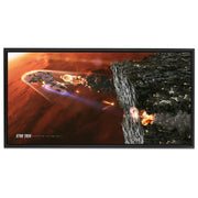 Star Trek: The Next Generation Ships of the Line Terminal Descent Floating Frame Wrapped Canvas